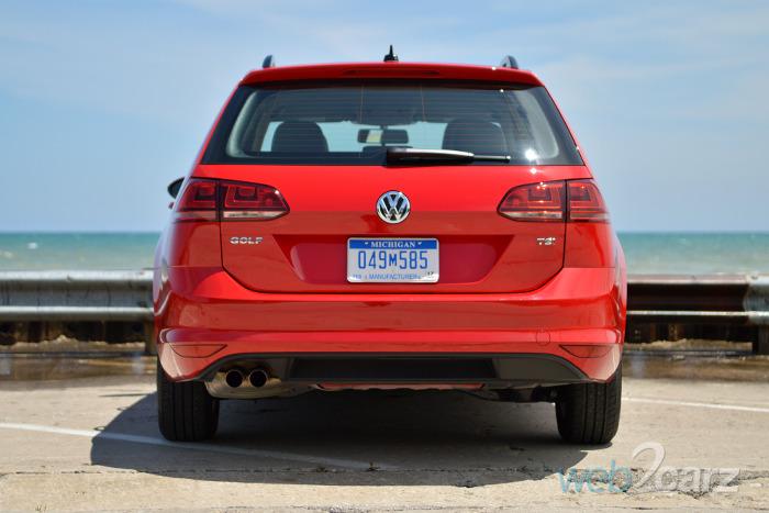 2015 Volkswagen Golf SportWagen TSI S Review | Web2Carz