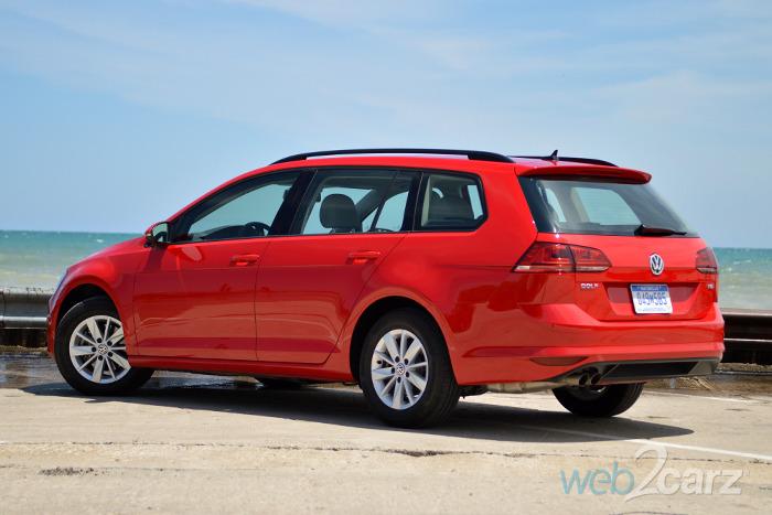 2015 Volkswagen Golf Sportwagen Tsi S Review Web2carz