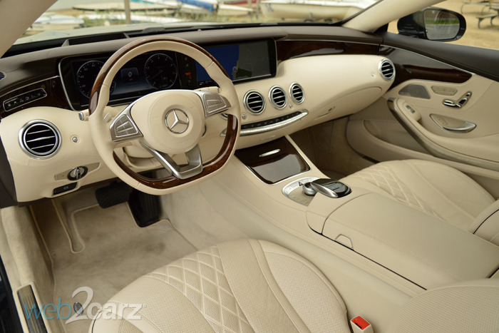 2015 Mercedes-Benz S550 Coupe Review | Web2Carz