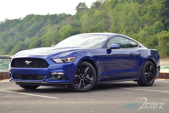 2015 Mustang EcoBoost Premium Review | Web2Carz