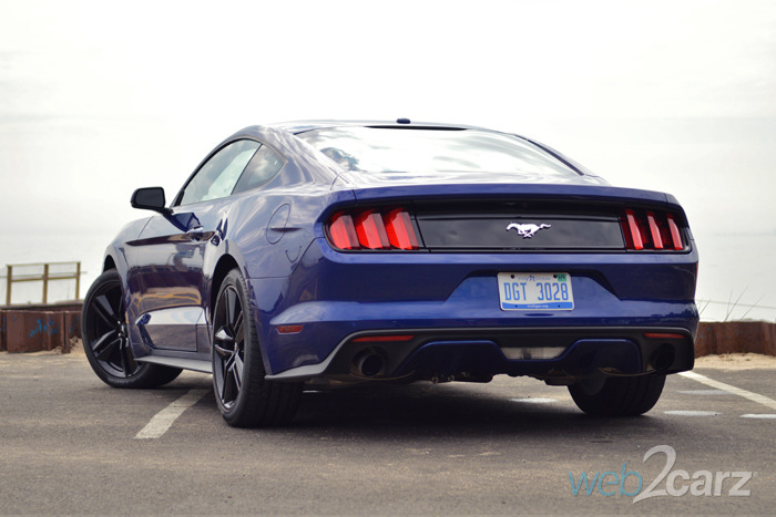 2015 Mustang Ecoboost Premium Review Web2carz