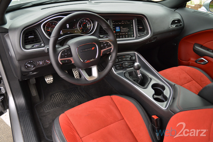 Red Bluff Dodge >> White Dodge Challenger Red Interior | Decoratingspecial.com