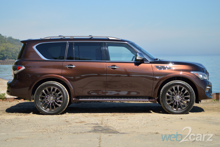 2015 Infiniti QX80 AWD Limited Review