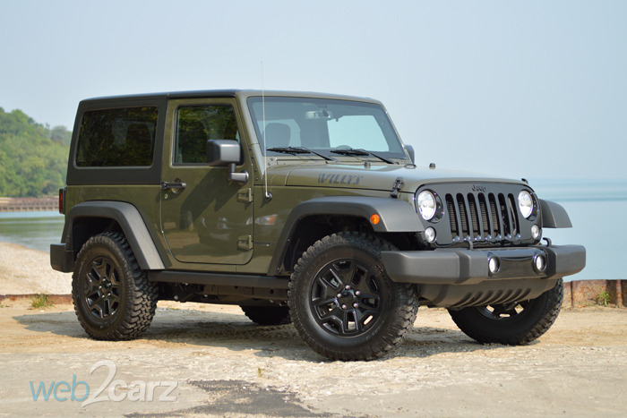 2015 Jeep Wrangler Willys Wheeler Review | Web2Carz