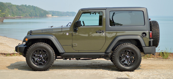2015 jeep wrangler willys wheeler review web2carz. Black Bedroom Furniture Sets. Home Design Ideas