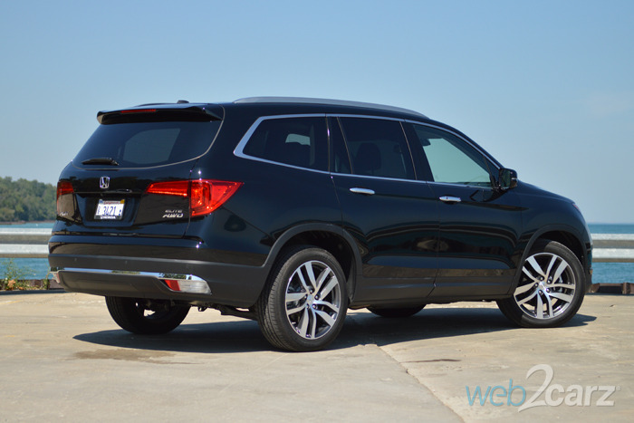 2016 honda pilot elite review web2carz. Black Bedroom Furniture Sets. Home Design Ideas