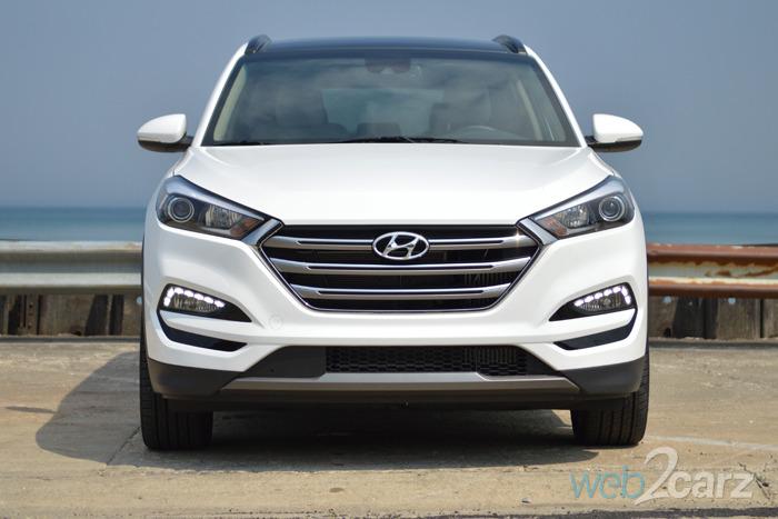 Chevy Small Suv >> 2016 Hyundai Tucson Limited AWD Review | Web2Carz