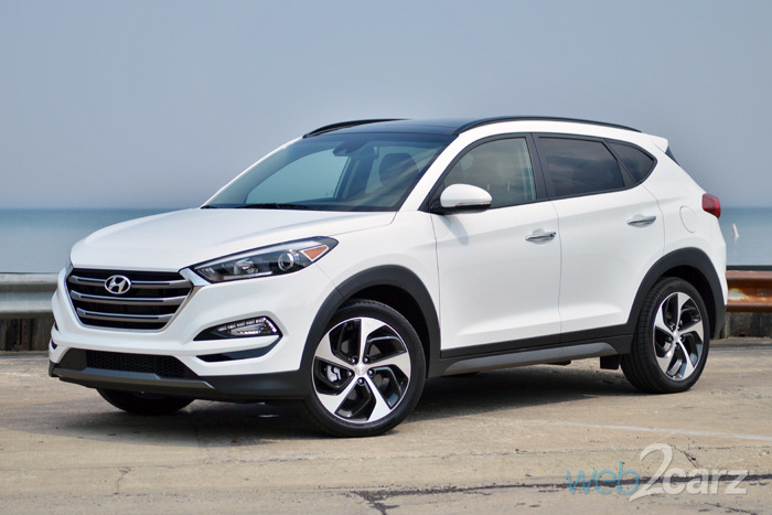 2016 hyundai tucson limited awd review web2carz. Black Bedroom Furniture Sets. Home Design Ideas