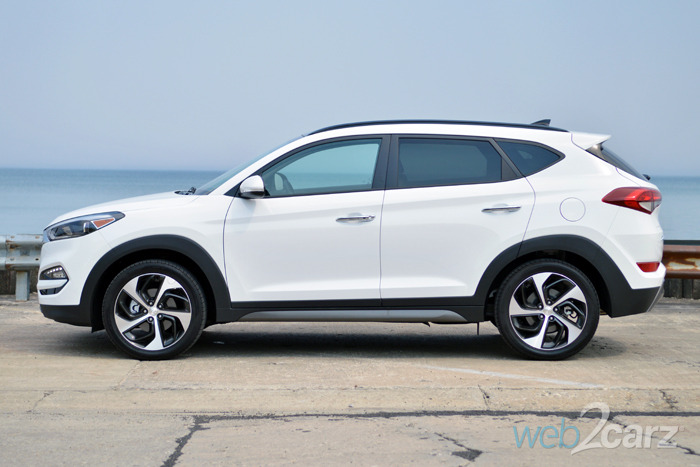 2016 Hyundai Tucson Limited AWD Review