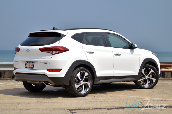 Small Chevy Suv >> 2016 Hyundai Tucson Limited AWD Review | Web2Carz