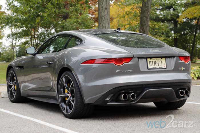 2016 Jaguar F Type R Awd Coupe Review Web2carz