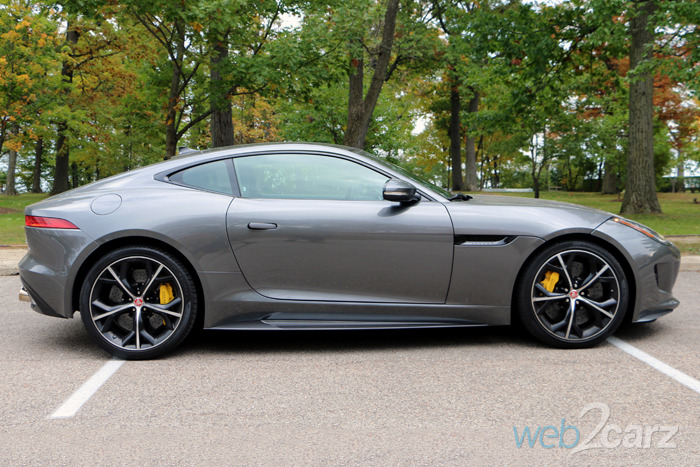 The Jaguar F-Type R AWD Coupe Aims to Devour the Competition