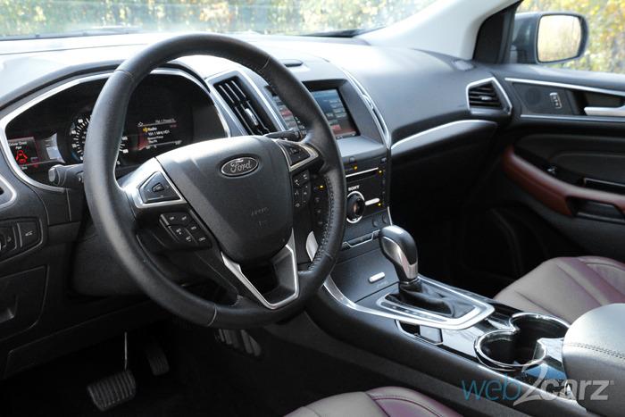 2015 Ford Edge Titanium AWD Review   Web2Carz