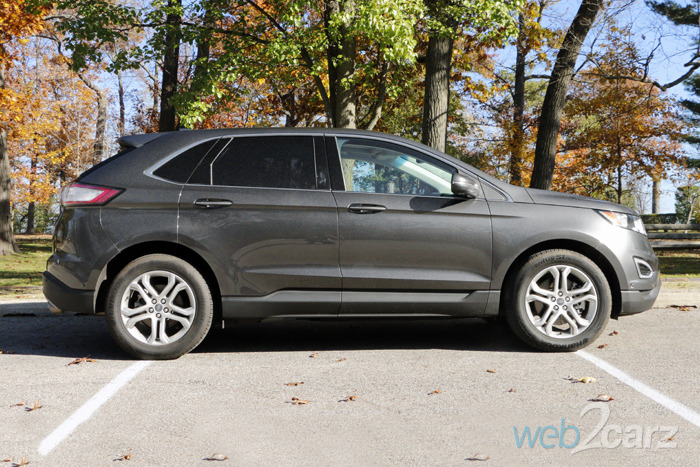 The 2015 Ford Edge Titanium AWD Gets Fresh and Fierce