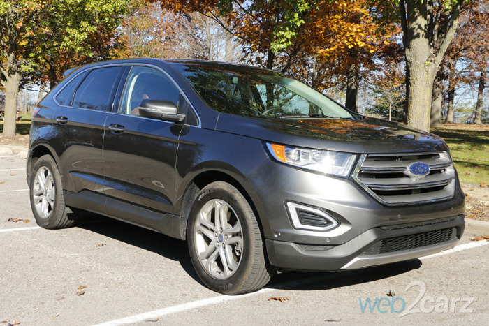 2015 Ford Edge Titanium AWD Review | Web2Carz