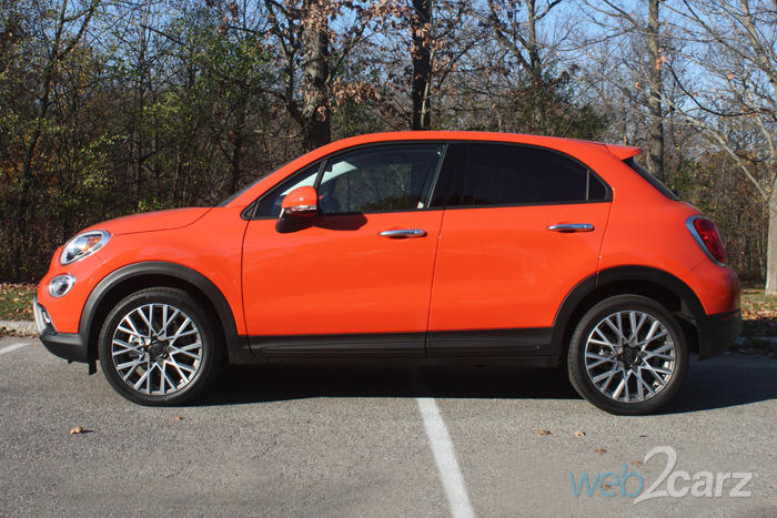 The 2016 Fiat 500X Likes to Dress More Than Play