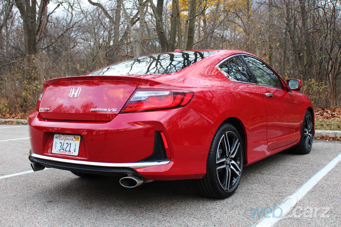 honda accord coupe touring review webcarz