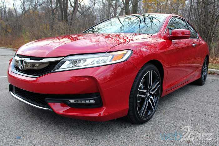 2016 honda accord coupe touring review web2carz. Black Bedroom Furniture Sets. Home Design Ideas