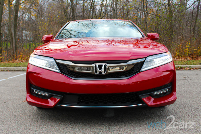 2016 Honda Accord Coupe Touring Review | Web2Carz