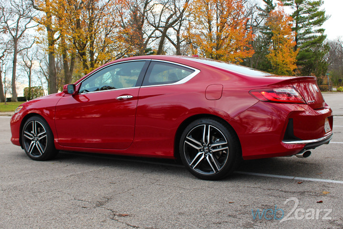 2016 Honda Accord Coupe Touring Review