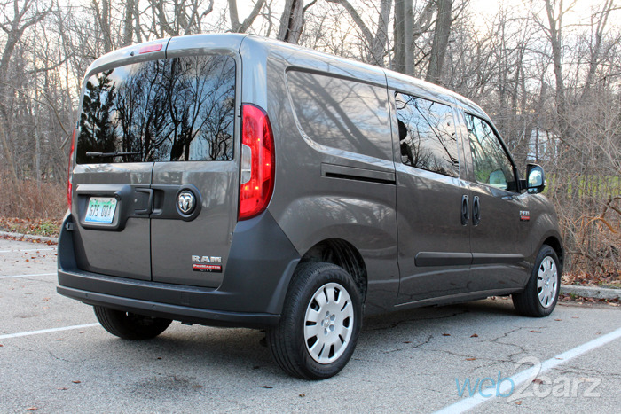 2015 Ram Promaster City Wagon Review Web2carz