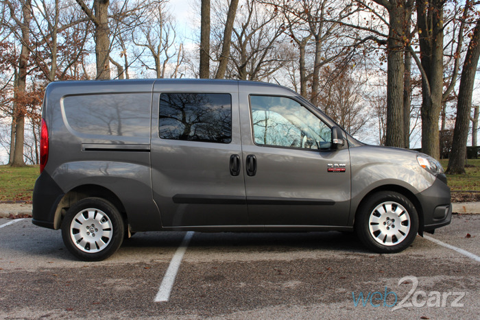 2015 Ram ProMaster City Wagon SLT Review | Web2Carz