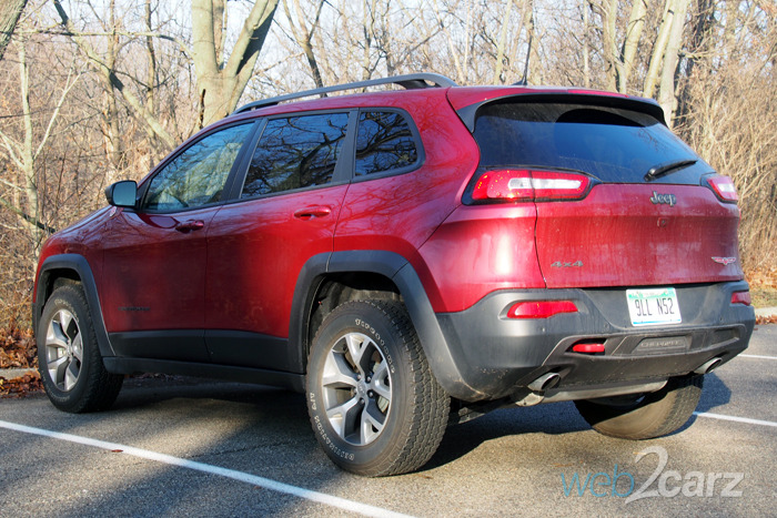 2016 Jeep Cherokee Trailhawk Review | Web2Carz