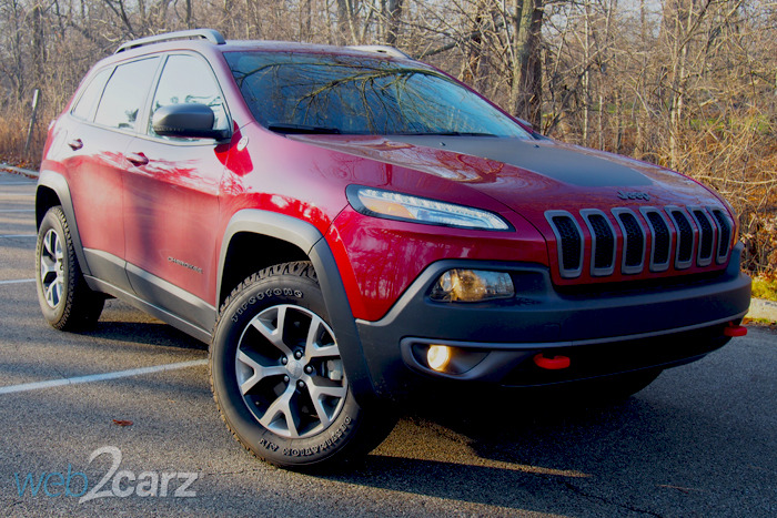 Nissan Frontier Off Road >> 2016 Jeep Cherokee Trailhawk Review | Web2Carz