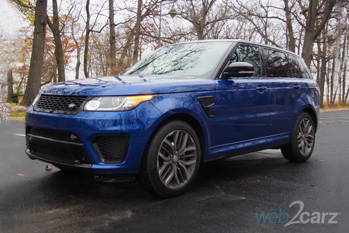 The 2015 Range Rover Sport SVR is a Stilted Supercar
