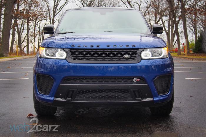 2015 Range Rover Sport SVR Review | Web2Carz