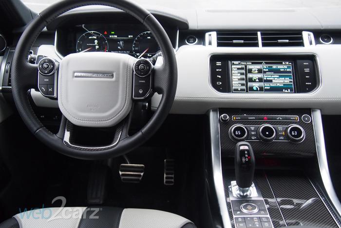 2015 Range Rover Sport Svr Review Web2carz