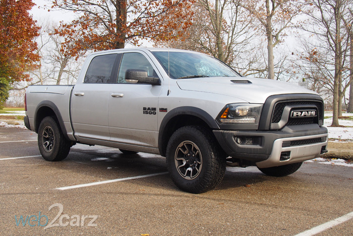 The 2015 Ram 1500 Rebel Pulls Double Duty On and Off Road