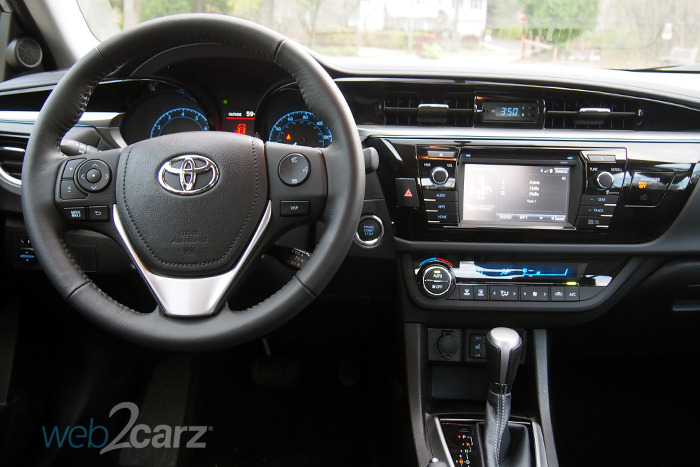 The 2016 Toyota Corolla S Premium Ups The Economy Car Game