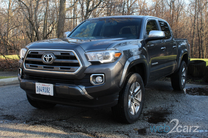 2016 toyota tacoma limited 4x4 review web2carz. Black Bedroom Furniture Sets. Home Design Ideas