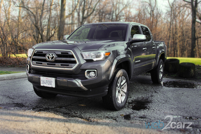 2016 Toyota Tacoma Limited 4x4 Review | Web2Carz