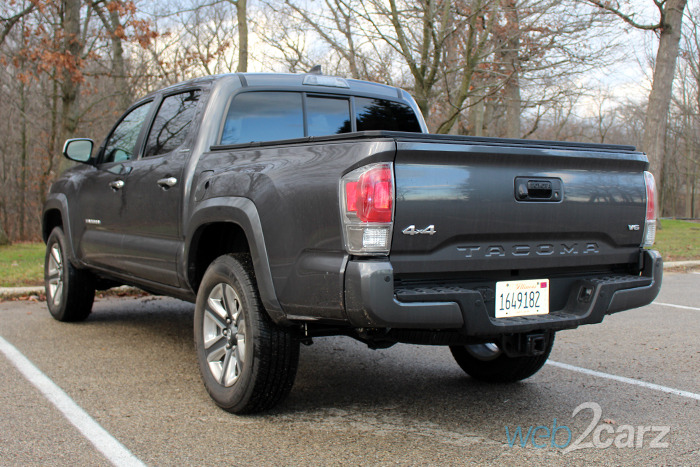 2016 Toyota Tacoma Limited 4x4 Review   Web2Carz