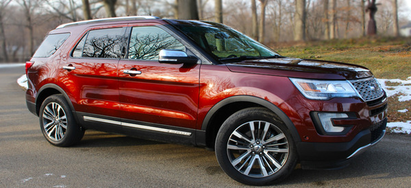 2016 Ford Explorer Review Web2carz