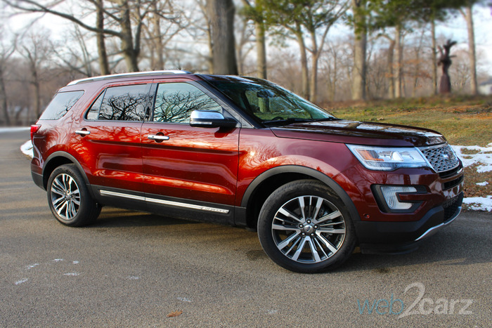 The 2016 Ford Explorer Is a Luxury CUV Value
