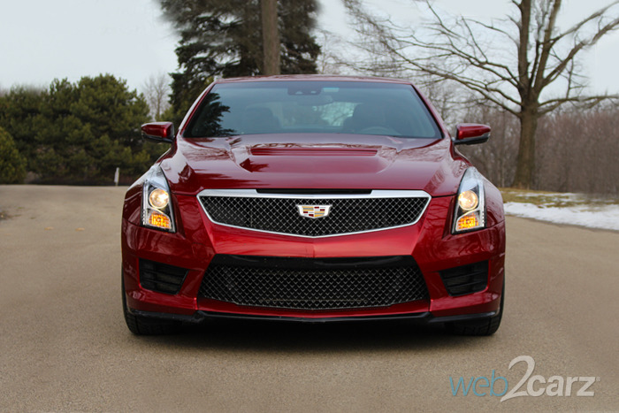 The Exceptionally Powerful and Luxurious 2016 Cadillac ATS-V