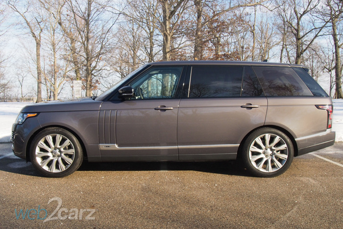 The 2016 Range Rover Supercharged LWB is a Movable Beast
