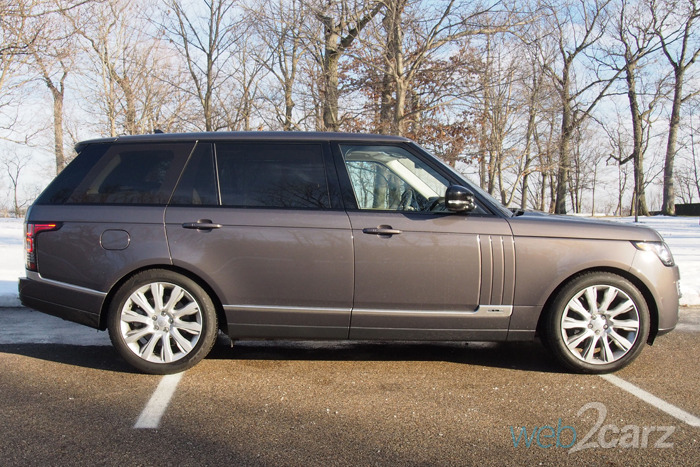 Range Rover Vs Land Rover >> 2016 Range Rover Supercharged LWB | Web2Carz