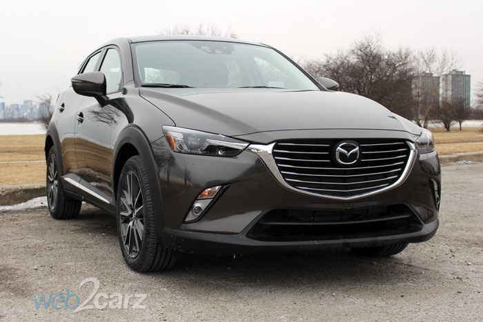 The Mazda CX-3 Grand Touring is a Sporty Take on the CUV ...