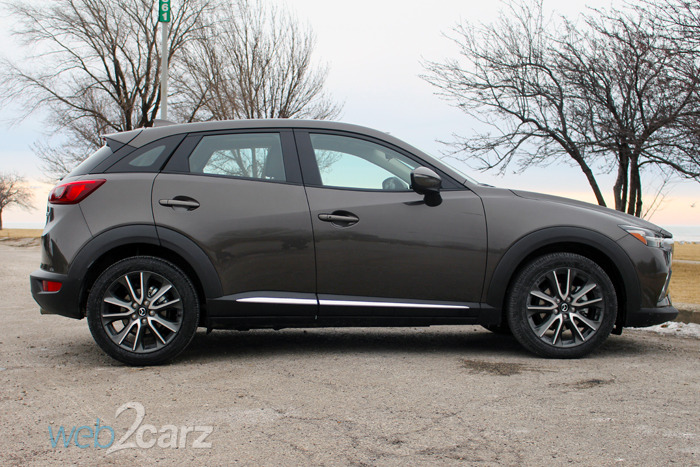 The Mazda CX-3 Grand Touring is a Sporty Take on the CUV