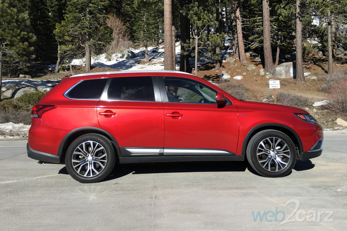The Mitsubishi Outlander GT S-AWC Heads to Tahoe