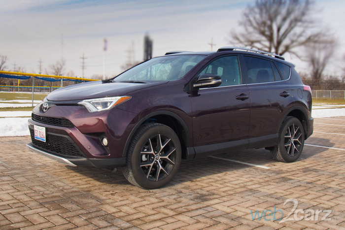 The Toyota RAV4 SE AWD is the Everyman's CUV