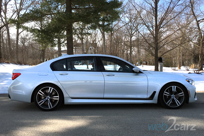 2016 Bmw 750i Xdrive Review Web2carz