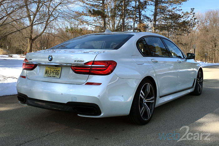 Popular 2016 BMW 750i XDrive Sedan Review  Web2Carz
