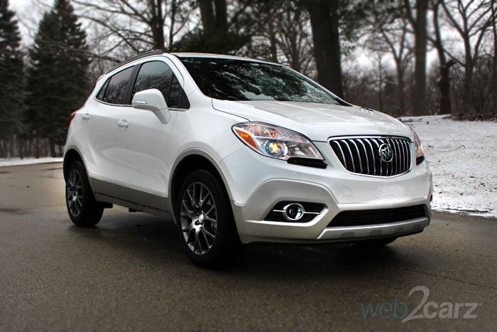 The 2016 Buick Encore Is A Quiet And Comfortable Compact Cuv