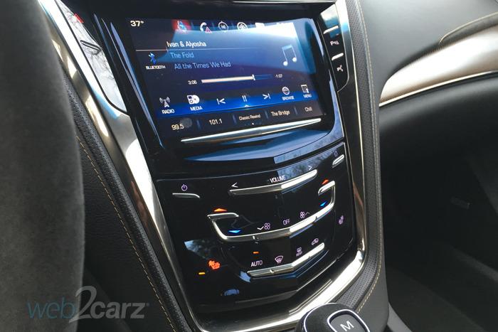 2016 Cadillac CTS-V Review | Web2Carz