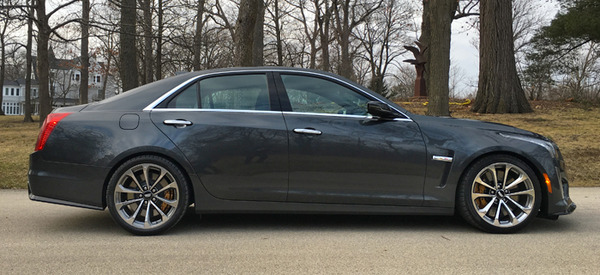 2016 Cadillac Cts V Review